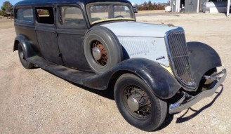 1934 Ford Hearse