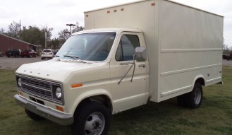 1976 Ford E350 Full Size Van – NO RESERVE!!