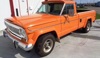 1977 Jeep Pickup –  NO RESERVE !!