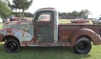 1940 Ford 1/2-Ton Pickup (Project)