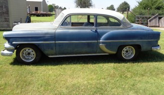 1954 Chevrolet 210 2-Door Post