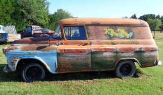 1959 Chevrolet Panel Truck (Project)