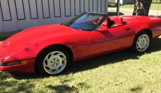 1992 Chevrolet Corvette Convertible – No Reserve