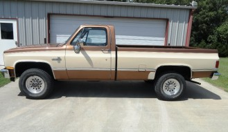 1981 Chevrolet K20 Long Bed Pickup