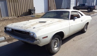 1970 Dodge Challenger R T Project Car