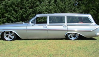 1961 Chevrolet Parkwood Wagon Restomod