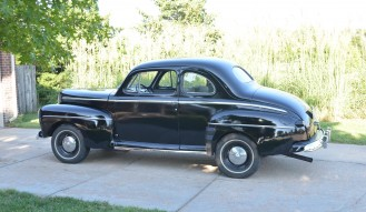 1942 Ford Model 21 A Super Deluxe 2-Door Coupe