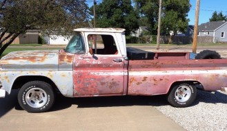 1963 Chevy C-10 Custom Cab Patina Pickup