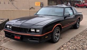1986 Chevrolet Monte Carlo S S – *No Reserve*