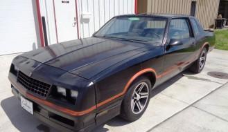1986 Chevrolet Monte Carlo S S **No Reserve**