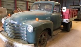 1950 Chevrolet 4100, 1 1/2-Ton Truck  — **No Reserve**