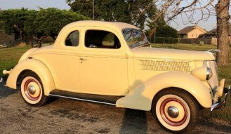 1936 Ford Deluxe 5-Window Coupe  **No Reserve**