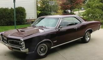 1966 Pontiac G T O Hardtop Coupe