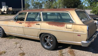 1969 Ford Fairlane 500 Wagon