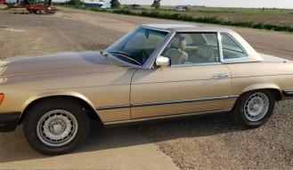 1982 Mercedes 380 S L *NO RESERVE*