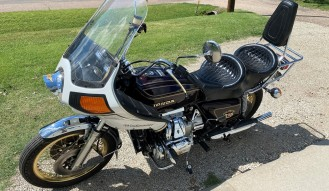 1976 Honda Goldwing G-L 1000 Lt. Ed. Motorcycle