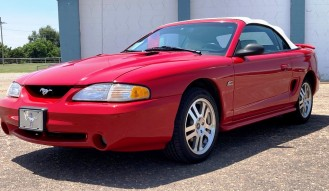 1995 Ford Mustang G-T – Convertible