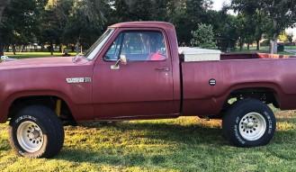 1980 Dodge Power Wagon Pickup