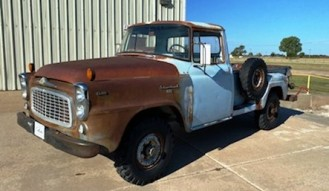 1959 I-H-C B120 Truck