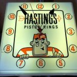 Hastings Piston Rings Clock - Working (#45)