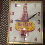 Nu Grape Soda Clock (Lot #22)
