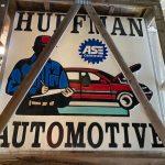 Huffman Automotive Sign (Lot 37)